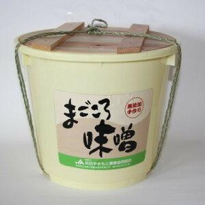 【ふるさと納税】まごころ味噌8kg樽入れ 【調味料・味噌・みそ】 お届け:入金確認後2〜3週間程度