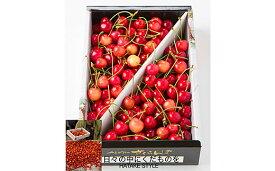 【ふるさと納税】FY20-280 佐藤錦 1kg バラ詰め 秀品 Lサイズ以上