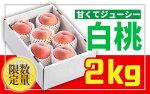 【ふるさと納税】FY18-818【先行予約】♪フルーツ王国山形♪白桃秀品2kg