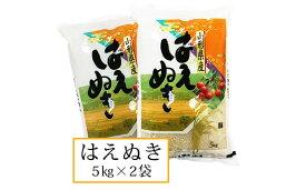 【ふるさと納税】FY19-453 令和元年産山形産はえぬき 10kg(5kg×2)