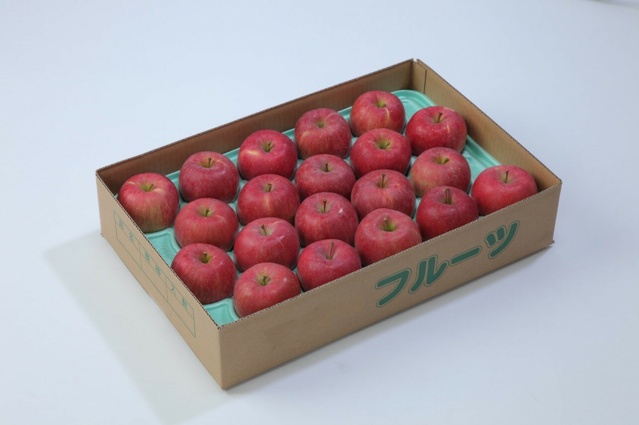 【ふるさと納税】 FY18-771 【甘み・酸味・歯ごたえの三拍子が揃った】山形産りんご(サンふじ)7kg(16〜26玉)