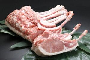 【ふるさと納税】FY18-751 豪快骨付き山形豚トマホーク(骨付きロース) 約3kg