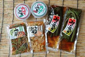 【ふるさと納税】A01-754 国産山菜味付けセット