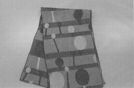 【ふるさと納税】E01-603 ストール木立ち(灰)