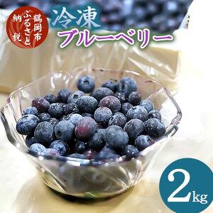 【ふるさと納税】【冷凍】ブルーベリー(バラ詰め)2kg
