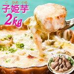 【ふるさと納税】里芋2kg山形の伝統野菜「子姫芋」土付き<洋風メニューにも相性抜群!>グラタンシチューパスタテリーヌ