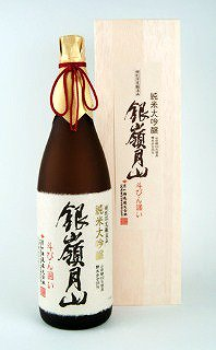【ふるさと納税】銀嶺月山 純米大吟醸 斗瓶囲い 1,800ml