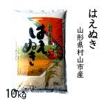 【ふるさと納税】村山産H30年産米「はえぬき」10kg