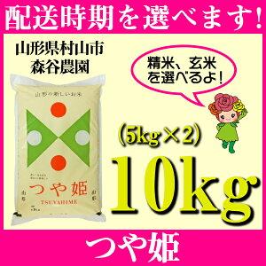 【ふるさと納税】 米 10kg 5kg×2 つや姫 精米 玄米 令和元年産 山形県村山市産 送料無料