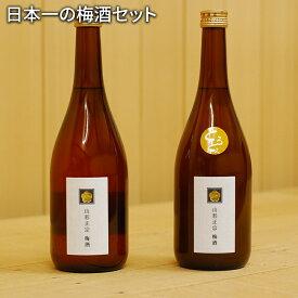 【ふるさと納税】日本一の梅酒セット【山形県 天童市】