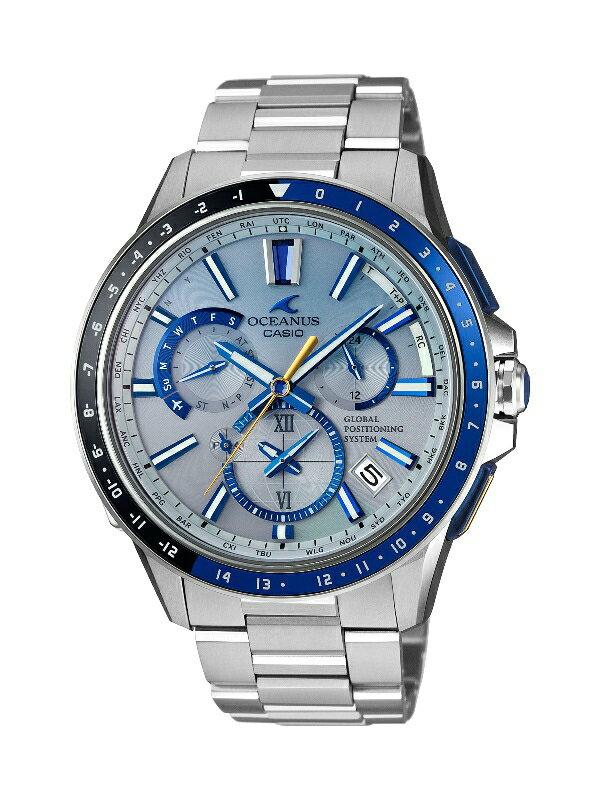 【ふるさと納税】E-56 CASIO腕時計「OCEANUS OCW-G1100C-7AJF」