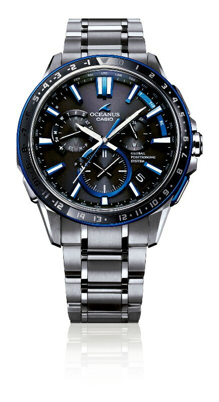【ふるさと納税】E-57 CASIO腕時計「OCEANUS OCW-G1200-1AJF」