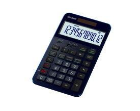 【ふるさと納税】CASIO・プレミアム電卓S100BU(ネイビーブルー) C-0059