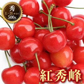 【ふるさと納税】《先行予約》山形県産 紅秀峰500gバラ詰め秀L〜2L F20A-030