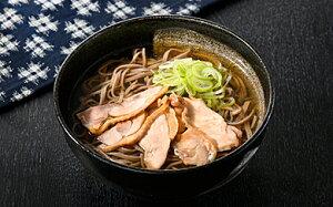 【ふるさと納税】 かほく冷たい肉そば冷蔵2食セット・かほく冷たい肉中華冷蔵2食セットと親鳥チャーシューおつまみ