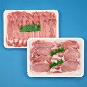 【ふるさと納税】山形県産庄内豚しゃぶしゃぶ用とカツ用セット