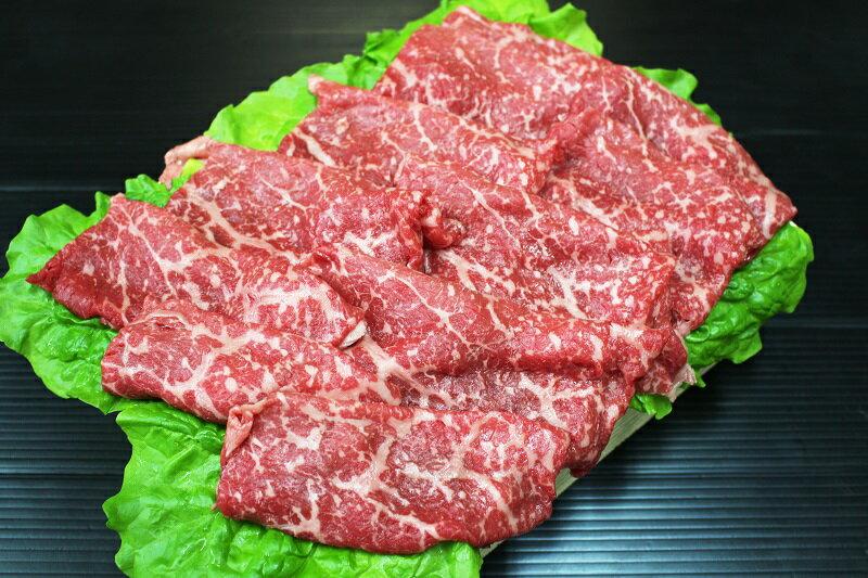 【ふるさと納税】A236 【数量限定品】 国産牛モモすき焼き用約500gと山形県産豚ロースしゃぶしゃぶ約1.0kg牛脂付き