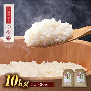 【ふるさと納税】【令和2年度産米】つや姫 10kg (5kg×2) 山形県西川町産