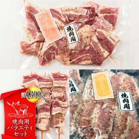 【ふるさと納税】《月山maltポーク》山形県産 焼肉用バラエティセット FYN9-441