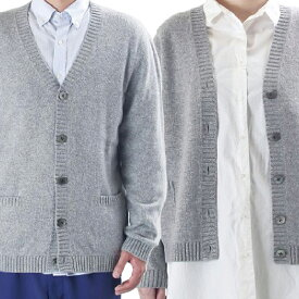 【ふるさと納税】大江の職人の手動編み オーダーメイド・カシミア100%ニットカーディガン 【ファッション・カーディガン】