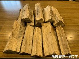 【ふるさと納税】105.金山町産 乾燥楢薪 100kg(20kg×5箱)【乾燥期間:半年から1年】