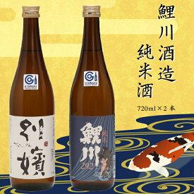 【ふるさと納税】鯉川酒造 純米酒セット(720ml×2本)