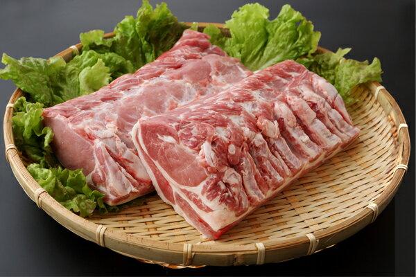 【ふるさと納税】【D-164】山形県庄内SPF豚最上川ポークロースブロック4kg
