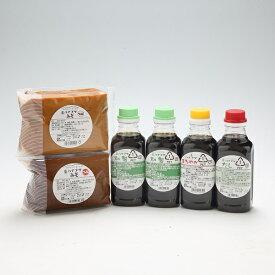 【ふるさと納税】ハナブサ醤油 醤油・味噌セット