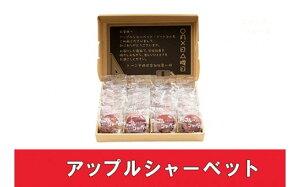 【ふるさと納税】No.0096 アップルシャーベット