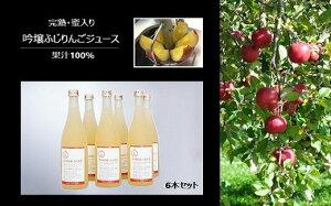 【ふるさと納税】No.0672 【限定15セット】完熟・蜜入り 吟壌ふじりんごジュース 6本セット