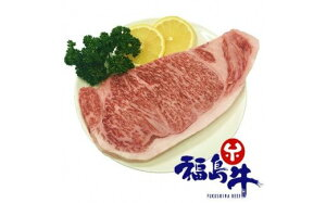 【ふるさと納税】No.0821 最高級 黒毛和牛 サーロインブロック 1kg 銘柄福島牛 A5〜A4等級