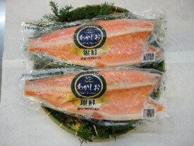 【ふるさと納税】海神 塩銀鮭切身2kg