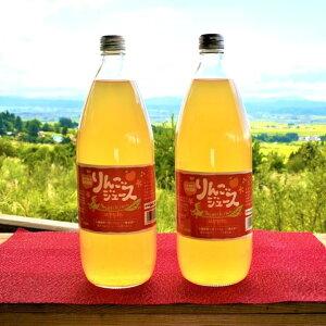 【ふるさと納税】BU-01K 無添加りんごジュース大ビン2本