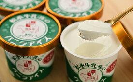 【ふるさと納税】【配達地域限定】松永牛乳(株)のバニラアイス12個【11004】