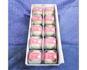 【ふるさと納税】No.004 果肉と生クリーム入り生菓子「桃ふく」10個