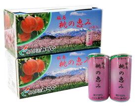 【ふるさと納税】No.006 「福島桃の恵み」20本 果汁100%ジュース