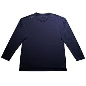 【ふるさと納税】リカバリーウェア A.A.TH / ロング Tシャツ ※カラー:ネイビー/ サイズ M【1067597】