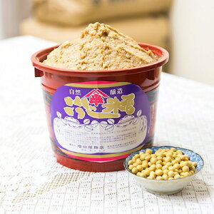 【ふるさと納税】2.3kg樽 仕立て味噌 (福島県産米・豆)【1099033】