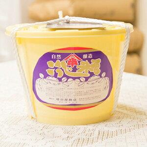 【ふるさと納税】4kg樽 仕立て味噌 (福島県産米・豆)【1099034】