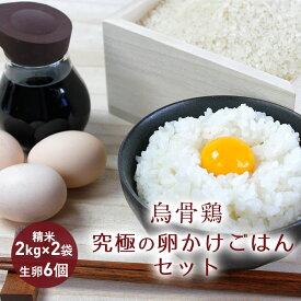 【ふるさと納税】【烏骨鶏】究極の卵かけごはんセット【発送期間 9月〜6月】