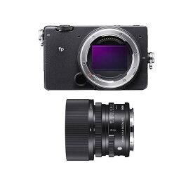 【ふるさと納税】SIGMA fp + 45mm F2.8 DG DN | Contemporary