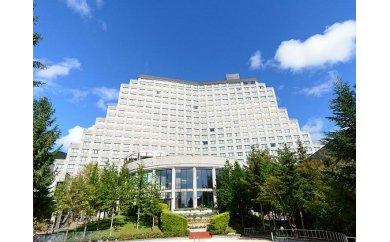 【ふるさと納税】 ホテルリステル猪苗代ウイングタワー 1泊2食付きペア宿泊券