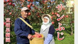 【ふるさと納税】17-A [予約開始!] 荒明果樹園 人生をかけた、極上りんご(サンふじ)5kg(16〜18玉)