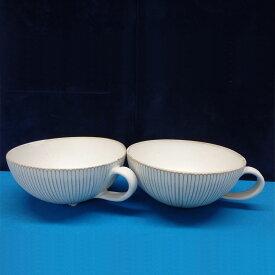 【ふるさと納税】会津本郷焼 スープボウルペアセット400年の歴史を誇る伝統工芸品