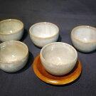 【ふるさと納税】会津本郷焼湯呑み(5客)400年の歴史を誇る伝統工芸品