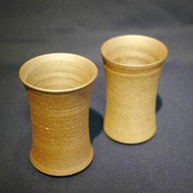 【ふるさと納税】会津本郷焼 ビアグラスペアセット400年の歴史を誇る伝統工芸品