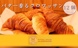 【ふるさと納税】 FN-0013 バター香るクロワッサン 12個セット