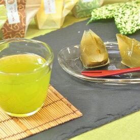 【ふるさと納税】◆お茶×お茶スイーツ 煎茶「水戸茶」とオリジナル「お茶葛餅」