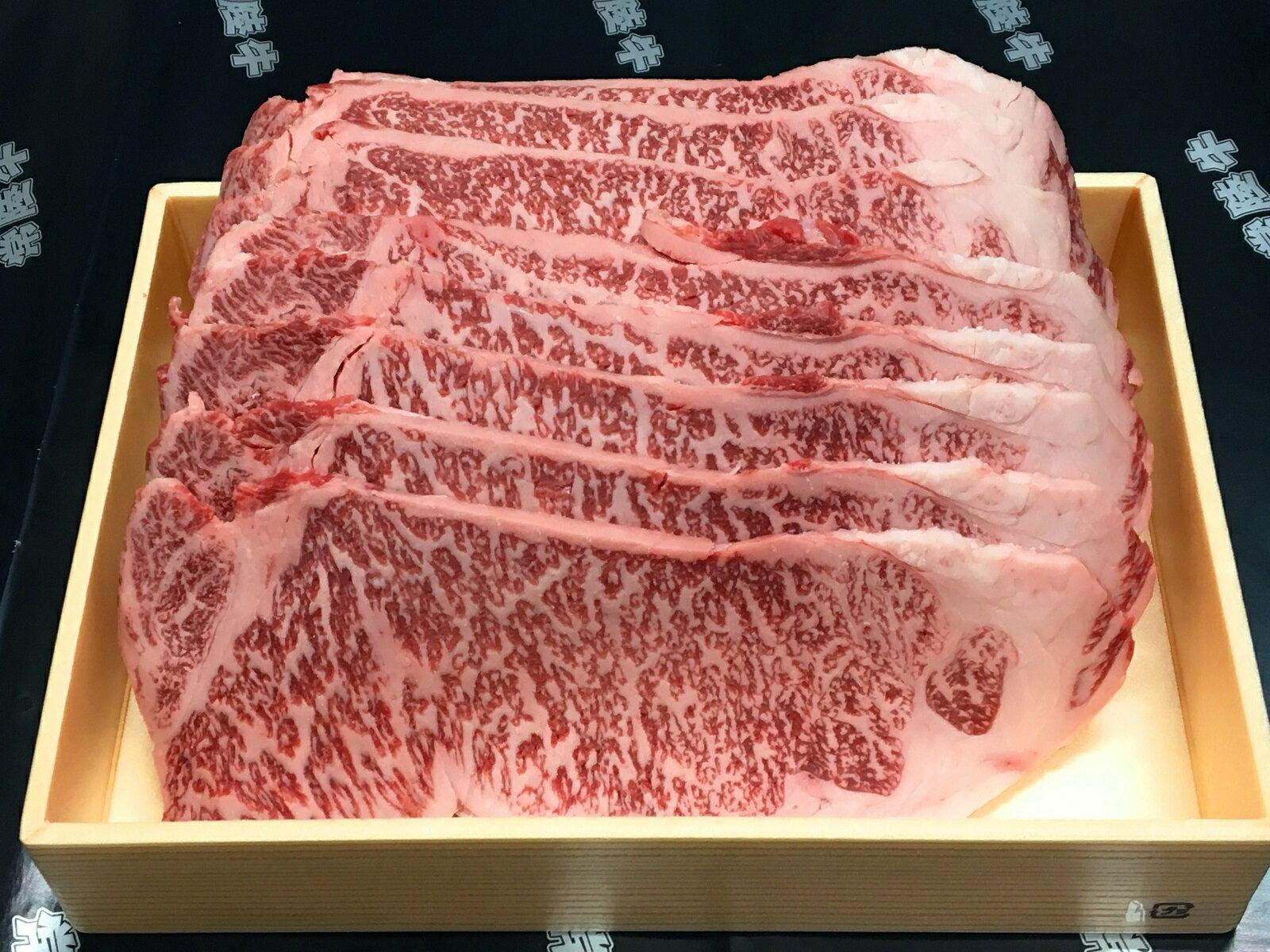 【ふるさと納税】J-5 日立市産 常陸牛サーロイン鉄板焼き用(1kg)
