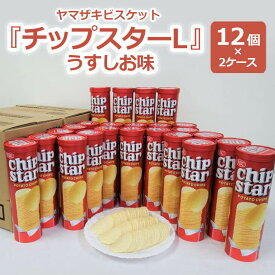 【ふるさと納税】BY03_ヤマザキビスケット『チップスターL』うすしお味(12個×2ケース)